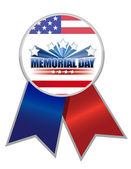 Memorial Day Ribbon — Stock Photo