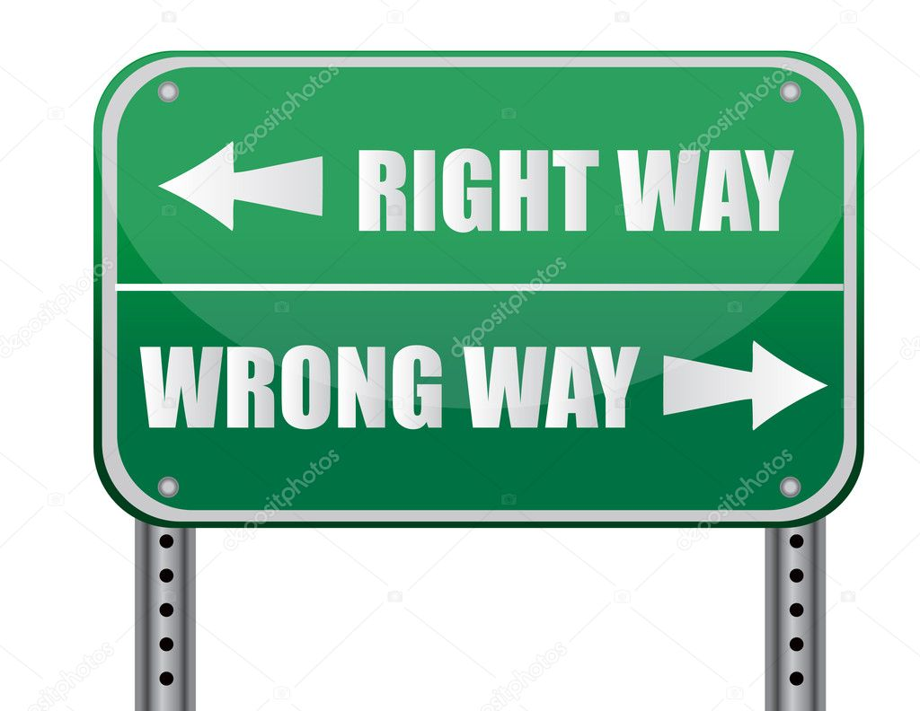 right or wrong which way is Ethics or moral philosophy is a branch of philosophy that involves systematizing, defending, and recommending concepts of right and wrong conduct the field of ethics, along with aesthetics, concern matters of value, and thus comprise the branch of philosophy called axiology.
