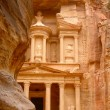 Al Khazneh - the treasury of Petra ancient city, Jordan — Stock Photo
