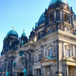 Berliner Dom (Berlin Cathedral) ALEXANDERPLATZ — Stock Photo