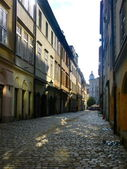Ancient narrow old town street — Stock Photo