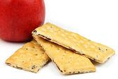 Apples cookies — Stock Photo