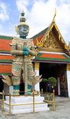 Demon Guardian Wat Phra Kaew Grand Palace Bangkok — Stock Photo