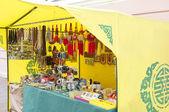 Boutique de souvenirs bouddhiste — Photo