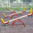 Stock Photo: Teeter totters
