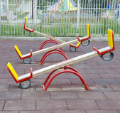 Teeter totters — Stock Photo