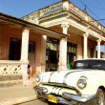 gamla bil i la Havanna — Stockfoto