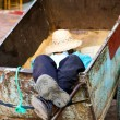 Sleeper in Marrakesh - Stock Photo