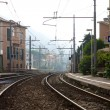 Stock Photo: Bogliasco Train Station