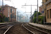 Bogliasco Train Station — Stockfoto