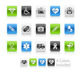 Medical Icons // Clean Series — Stock Photo