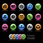 Web Site & Internet // Gel Color Series — Stock Photo