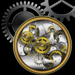 Stock Photo: Mechanical watches
