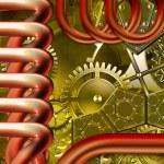 Retro mechanism — Stock Photo #5477864