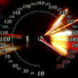 Stock Photo: Zoom acceleration motion