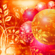 Stock Photo: Abstract christmas ball