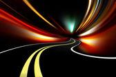 Abstract night road — Stock Photo