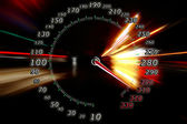 Zoom acceleration motion — Stock Photo