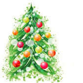 New year and christmas symbol — Stock Photo