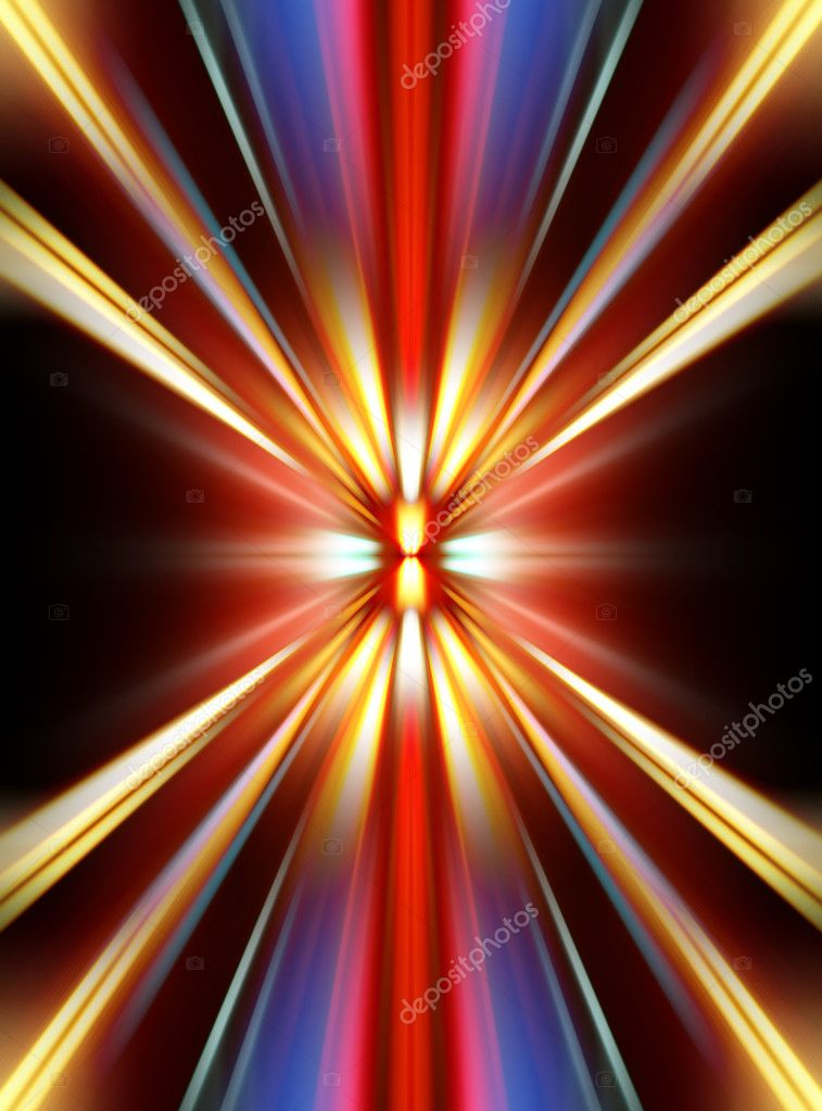 Abstract night acceleration speed motion  — Stock Photo #5477640