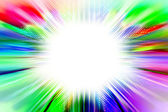 Abstract colorful radiant background — Stock Photo