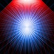 Stock Photo: Abstract radiant star