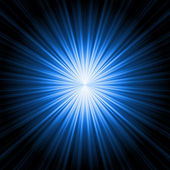 Abstract radiant star — Stock Photo