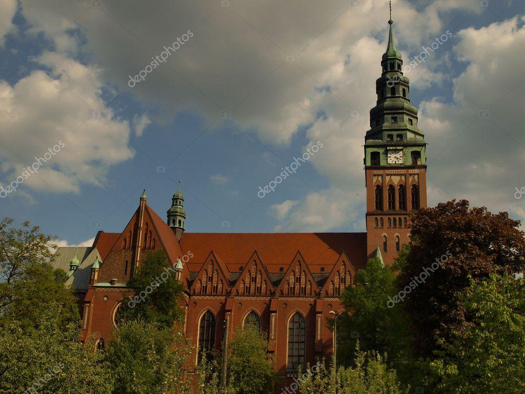 Gliwice Poland  City pictures : depositphotos 5599718 St. Bartholomews Church in Gliwice Poland
