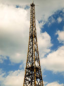 Gliwice Radio Tower(the highest wooden building on the world - 1 — Stock Photo