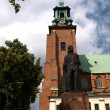 Gniezno cathedral in the former Polish capital — Stock Photo #5992704