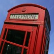 Stock Photo: British call box