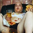 Couch potato - Stockfoto