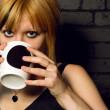 Drinking coffee — Stock Photo #5643068