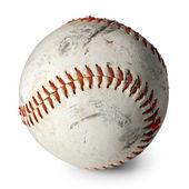 Old baseball isolated — Stock Photo