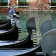 Gondolas in Venice Italy — Stock Photo #6245194