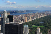 Central Park and Upper West Side — Stock Photo
