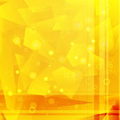 Abstract yellow background — Stockvector