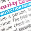 Security word — Stock Photo #6235111