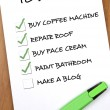 To do list — Stock Photo #6235133