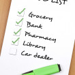 To do list — Stock Photo #6235134