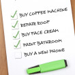 Royalty-Free Stock Photo: To do list