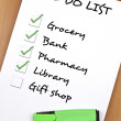 To do list — Stock Photo #6235148