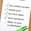 To do list — Stock Photo #6235186
