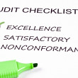 Audit checklist — Stockfoto #6235294