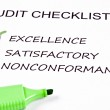 Audit checklist — Stockfoto