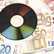 Money and cd — Stock Photo #6236214
