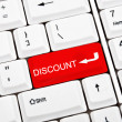 Discount key — Foto de Stock