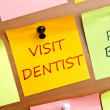 Visit dentist — Stock Photo #6239826