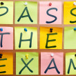 Stock Photo: Pass exam