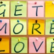 Stock Photo: Get more love